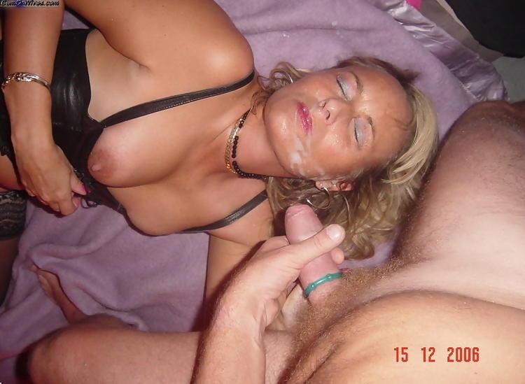 Порно фото зрелые лицо кончине