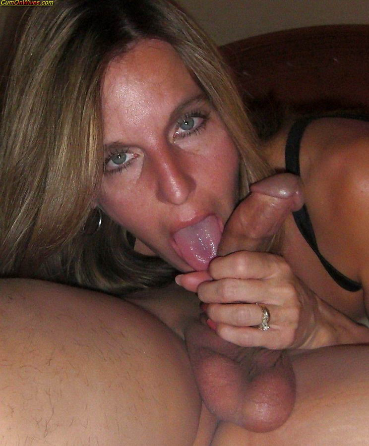 milf facial amateur Mature cum