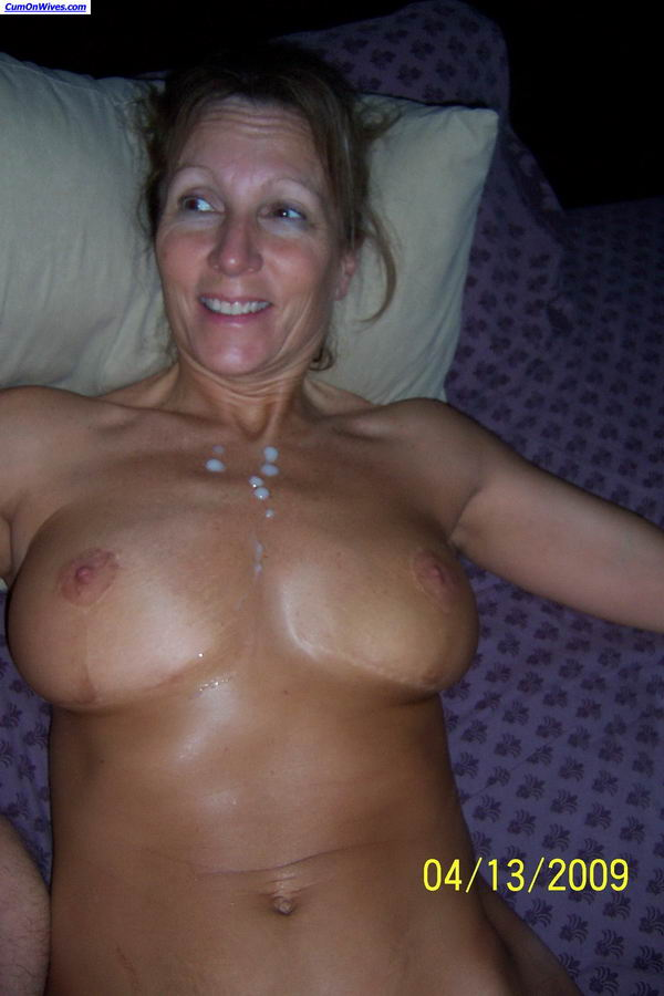 Real amateur wife facials