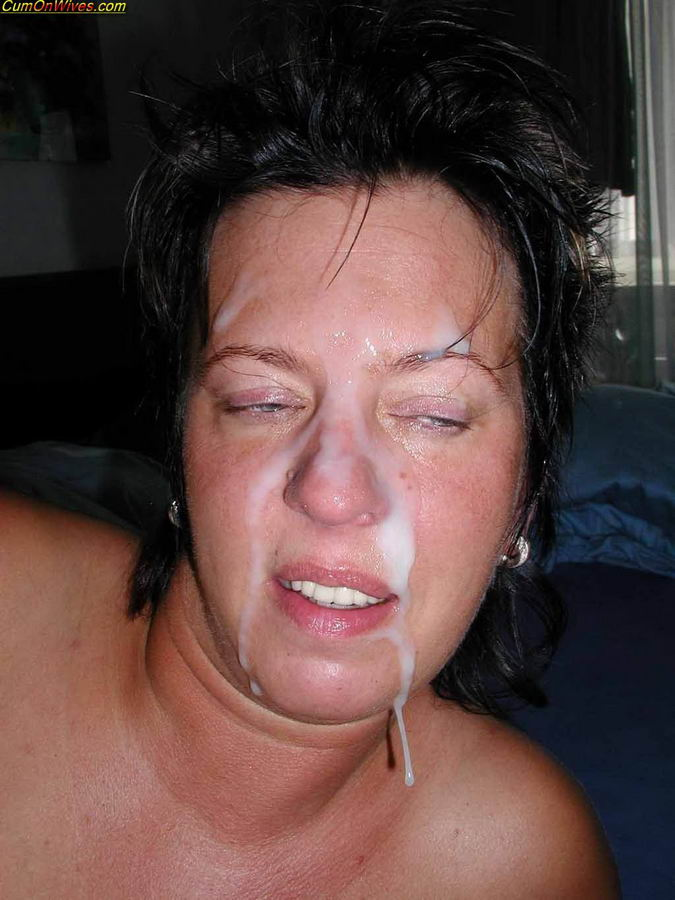 Amature wife facial