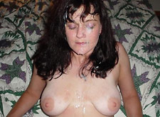 swinger mom gets many facials