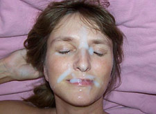 blowjob ends with a facial