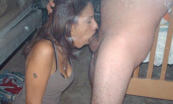 Wives who deep throat deep